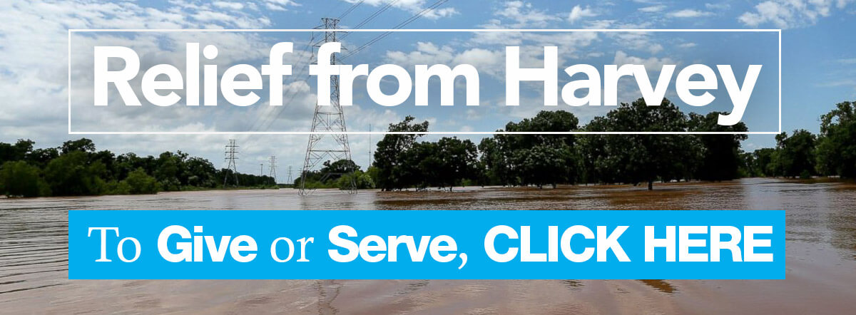 Click here to give to our Harvey Relief Fund.